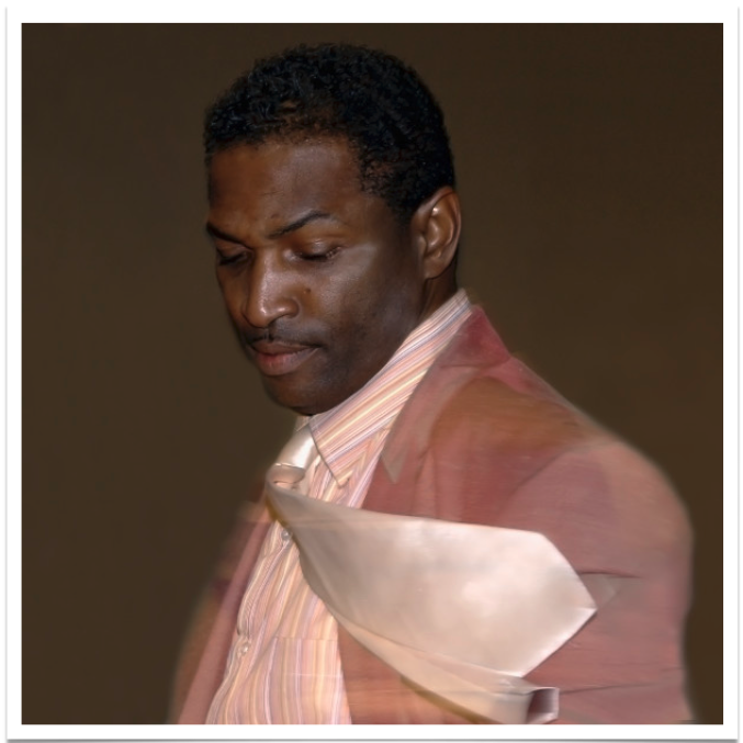 Spinning Black Man, 2013, Cecil McDonald Jr., Photography, Montage, 40 x 40.png